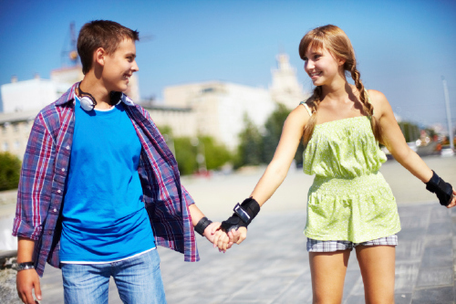 Teens on a date would worry younger parents