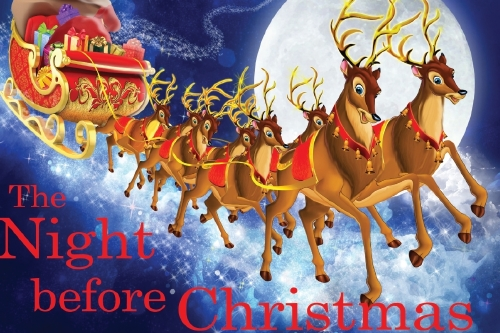 The Night Before Christmas by Rose Collins
