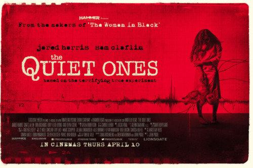 the quiet ones posters