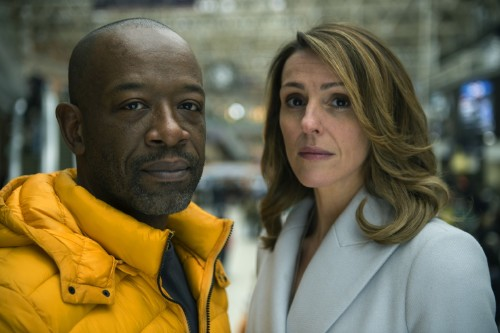 Suranne Jones and Lennie James in Save Me