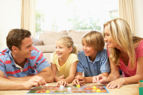 best games to play with family