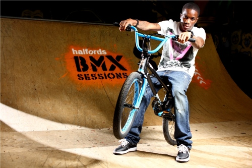 Tinchy Stryder is Encouraging kids to Learn BMX skills