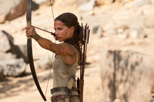 Alicia Vikander debuts as Lara Croft in Tomb Raider
