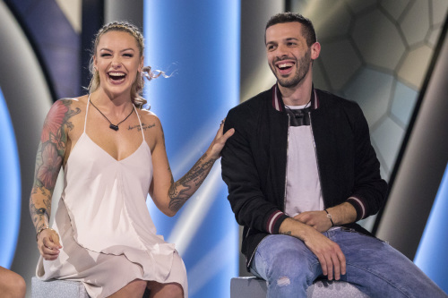 Veronica and Hamza fell victim to this season's first double eviction