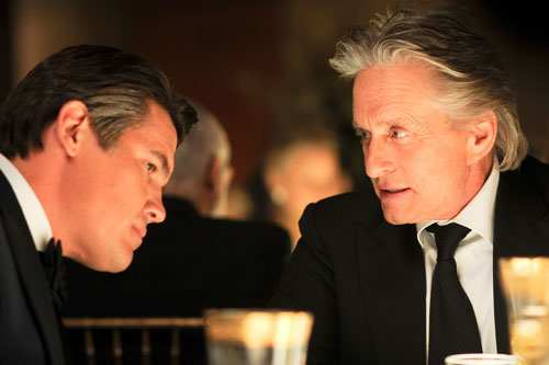 Josh Brolin and Michael Douglas