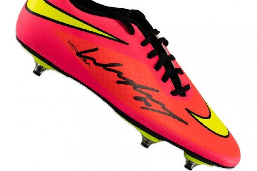 Signed by Wayne Rooney himself