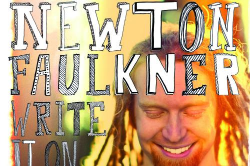 newton faulkner  write it on your skin album review