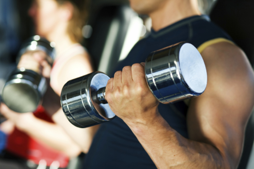 How men can make the most of their gym session