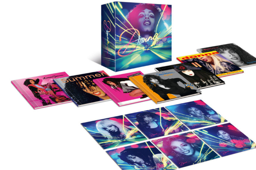 Donna Summer Vinyl & CD Box Set