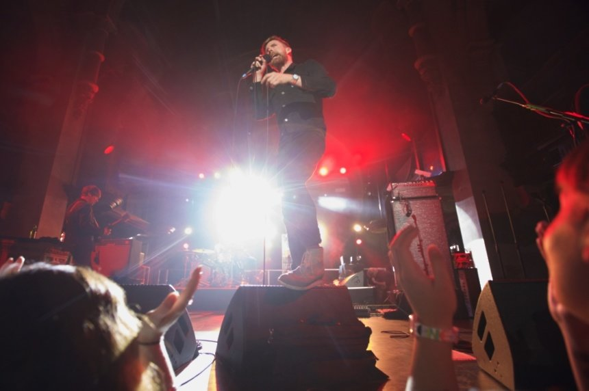 Kaiser Chiefs perform intimate MasterCard Priceless Gig in London - see the pictures