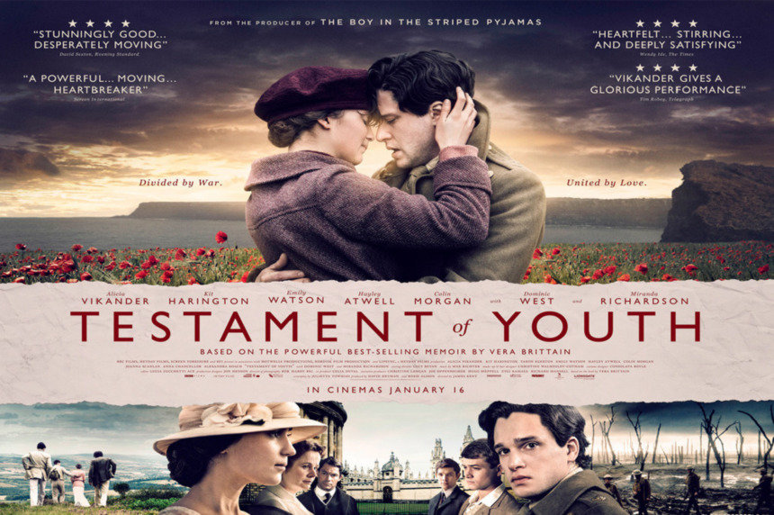 Win Tickets Testament of Youth Premiere