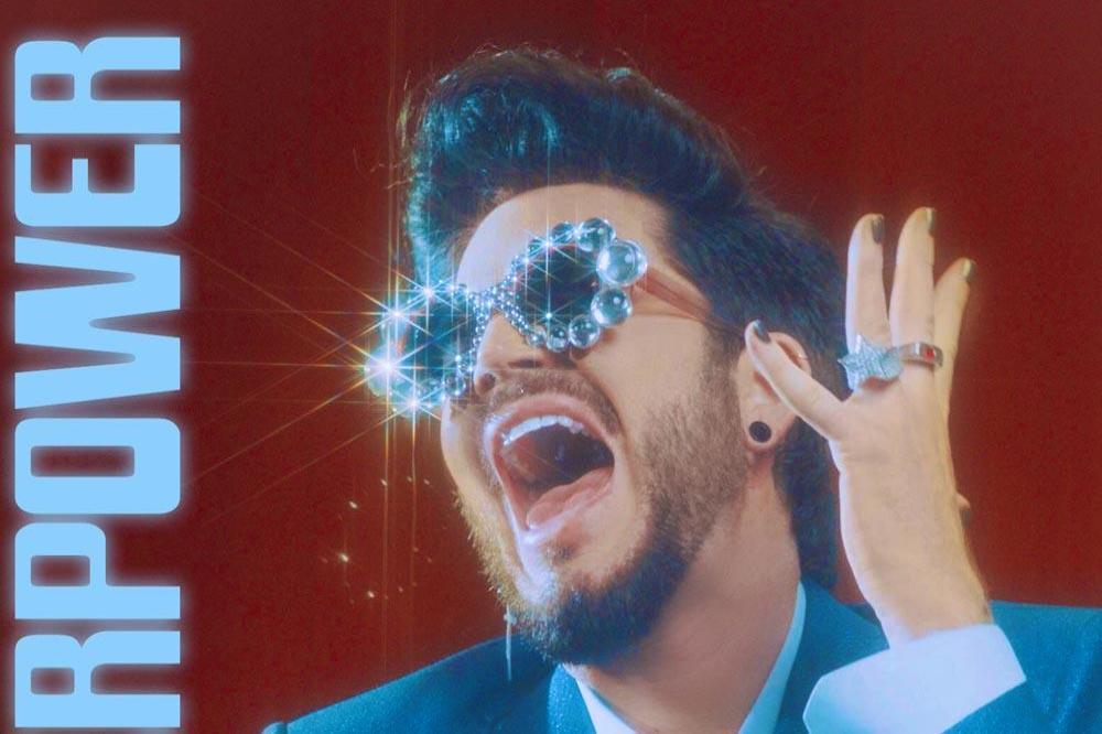 Go Behind The Scenes of Adam Lambert's 70s-Themed