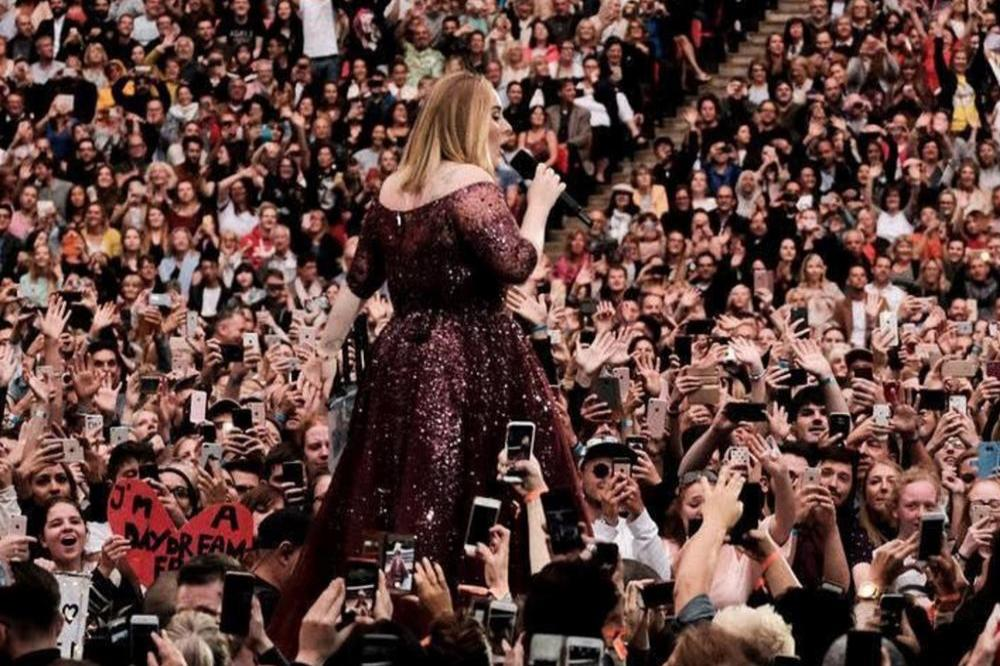 Adele at Wembley