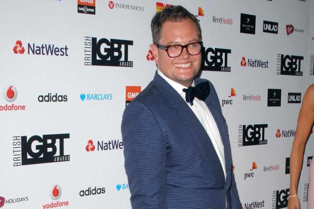 Alan Carr at the British LGBT Awards
