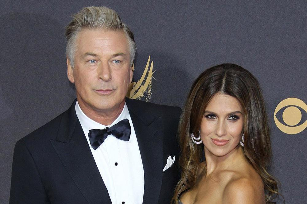 Alec and Hilaria Baldwin at the Emmys