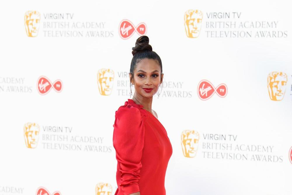 Alesha Dixon at the Virgin TV British Academy Television Awards