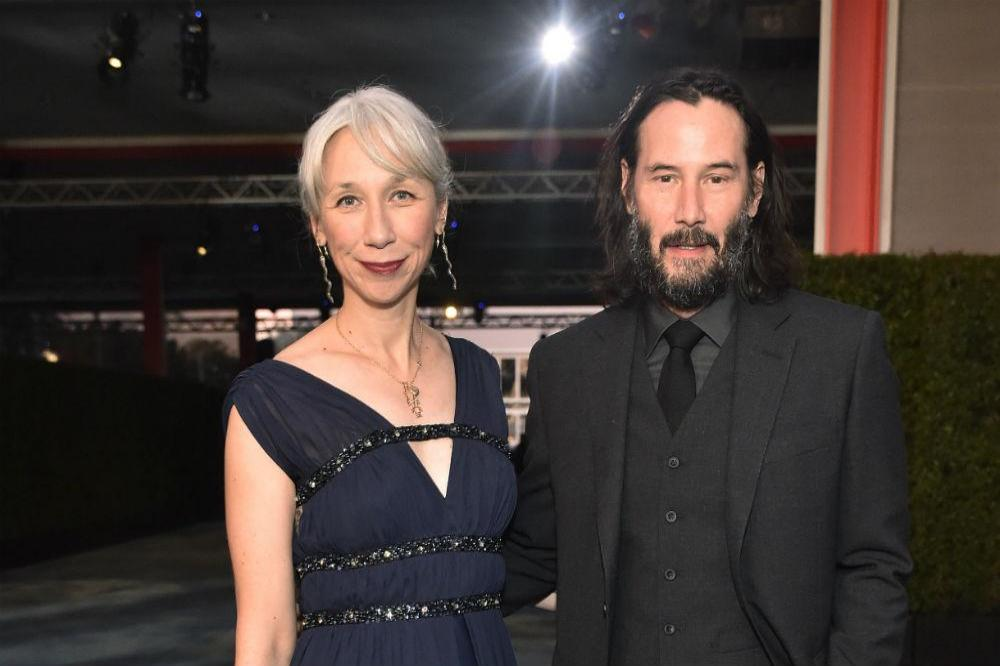 John Wick star Keanu Reeves Allegedly Dating Alexandra Grant