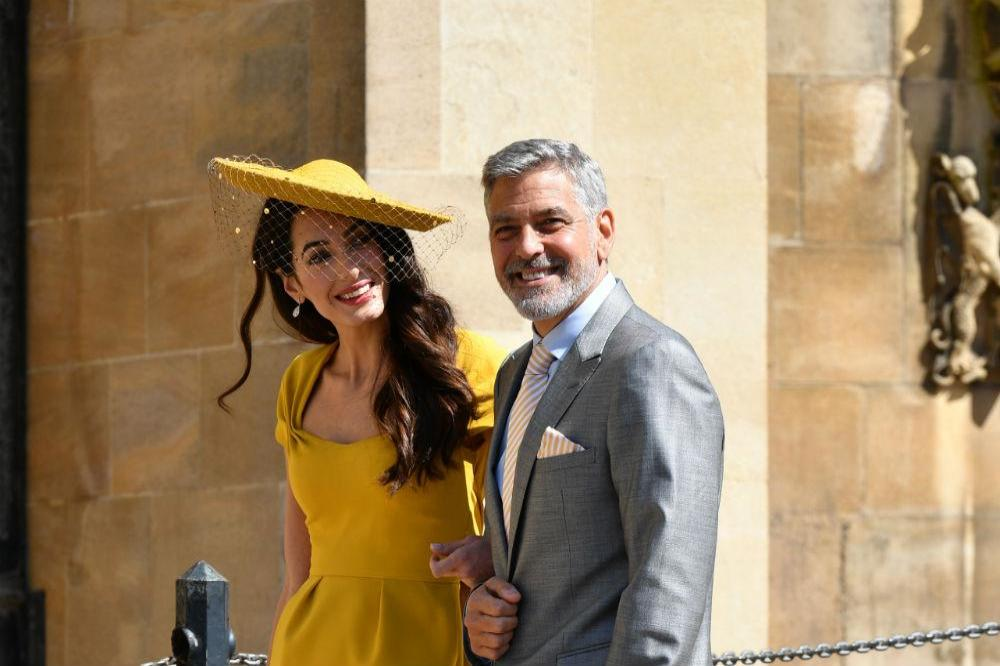 Royal Wedding Reception.George Clooney Poured Shots At Royal Wedding Reception