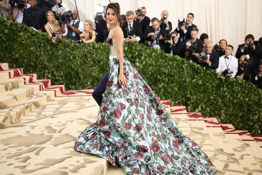 Amal Clooney shuns Tom Ford dress