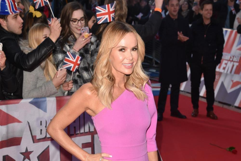 Amanda Holden mocked over wardrobe malefaction at Britains Got Talent