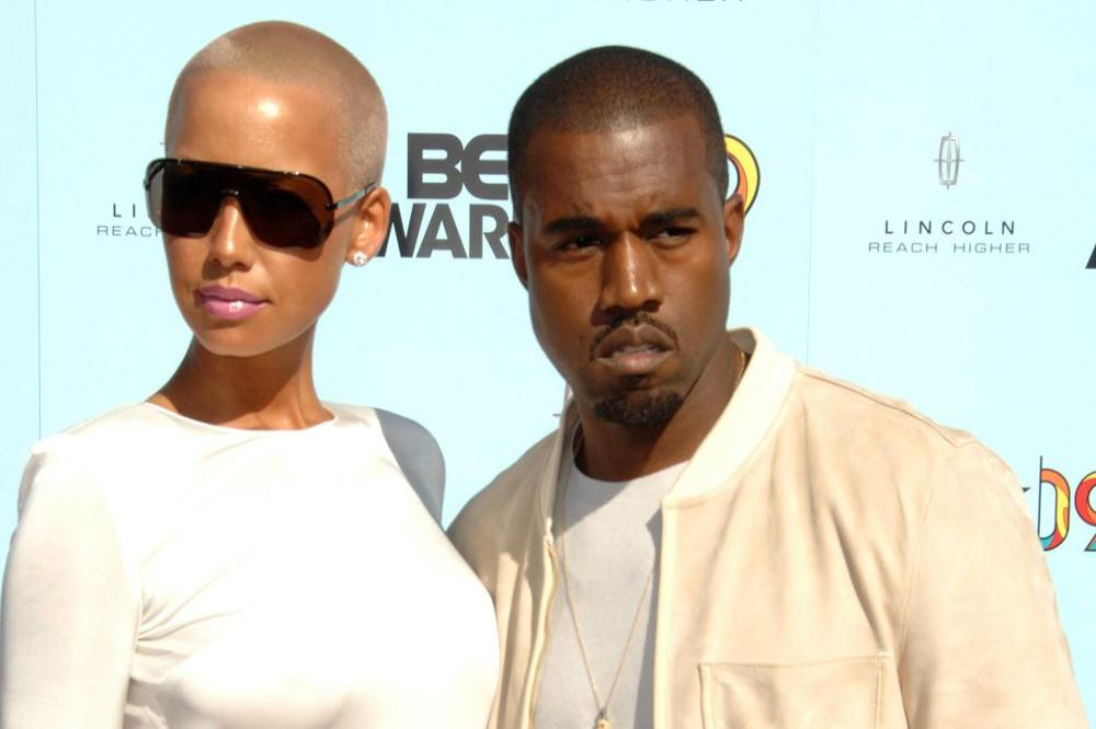 Amber Rose and Kanye West in 2009