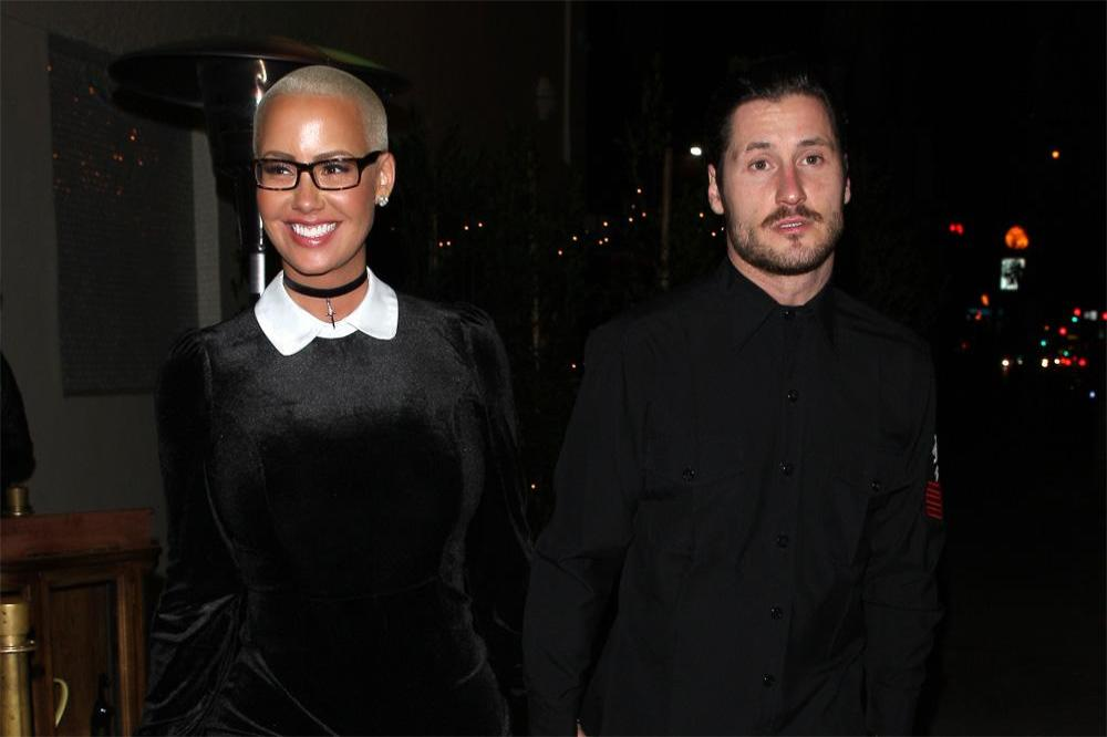 Dwts val dating amber rose