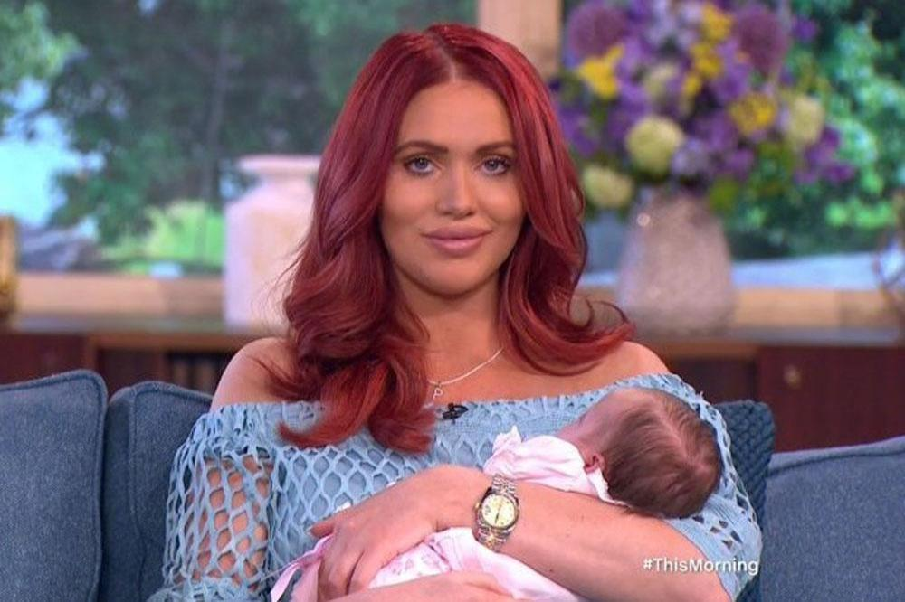Amy Childs and her daughter Polly