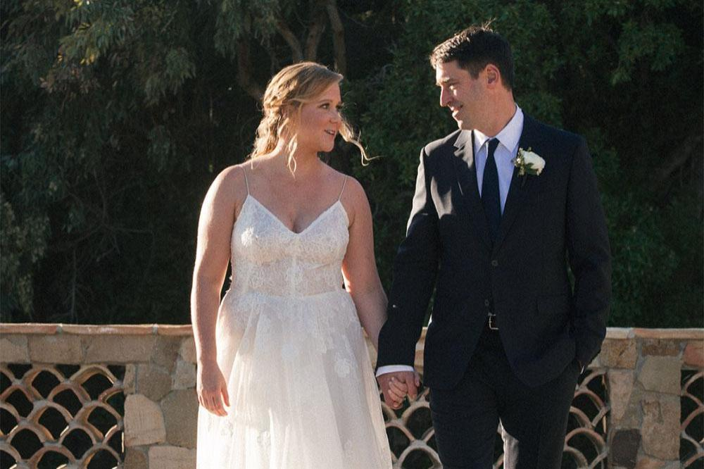 You Thought Amy Schumer's Wedding Vows Wouldn't Be Hilarious?