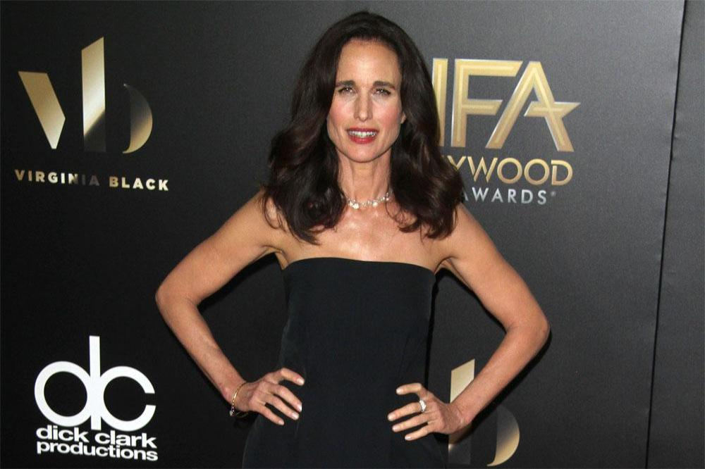 Andie MacDowell at Hollywood Film Awards