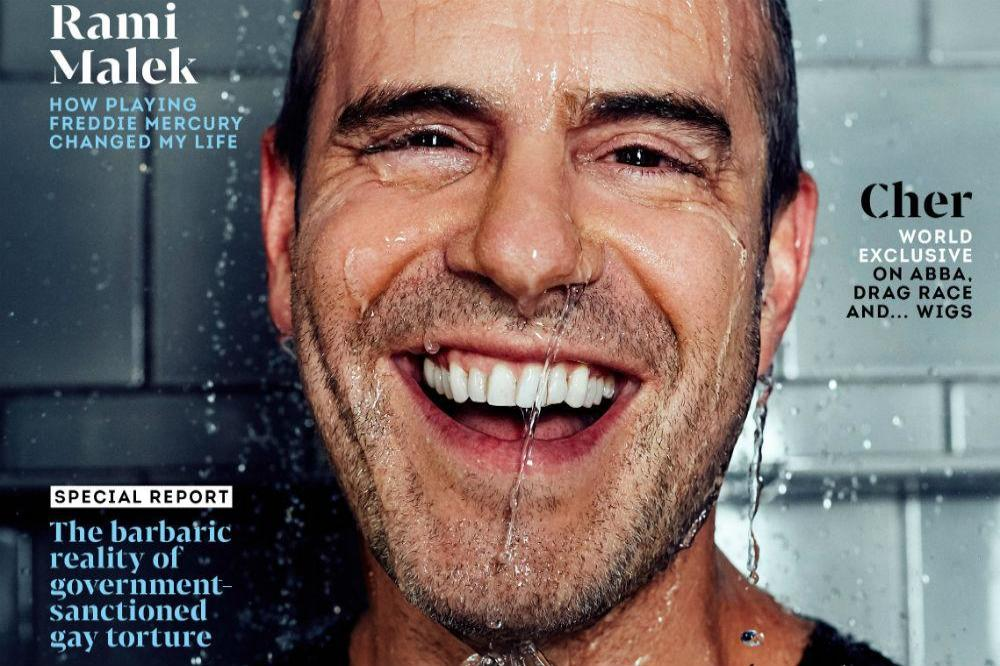 Andy Cohen covers Attitude