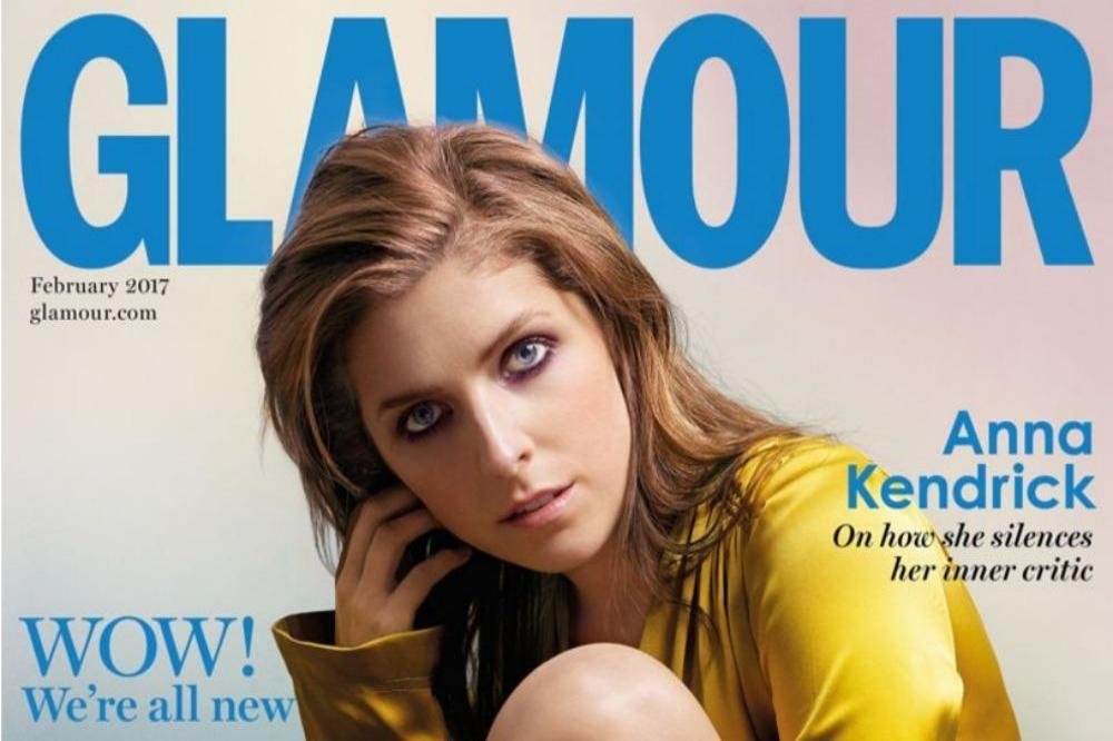 Anna Kendrick On Glamour Magazine Cover