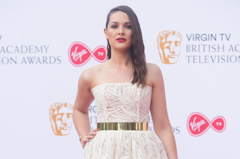 Anna Passey at the TV BAFTAs