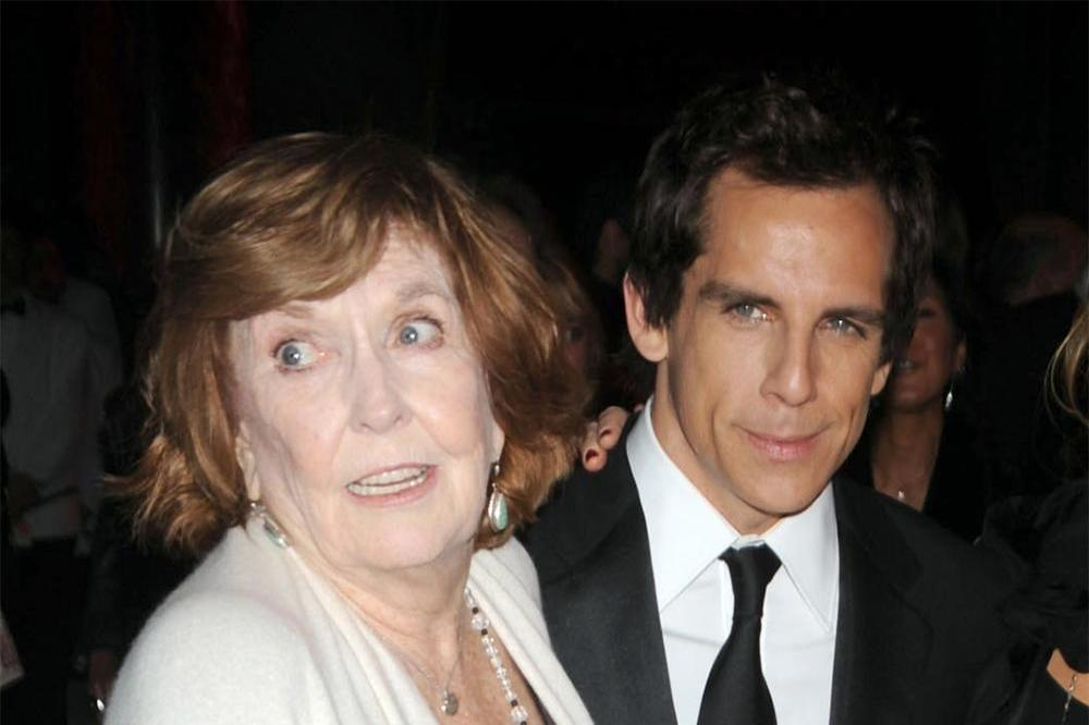 Ben Stiller with his mother Anne Meara