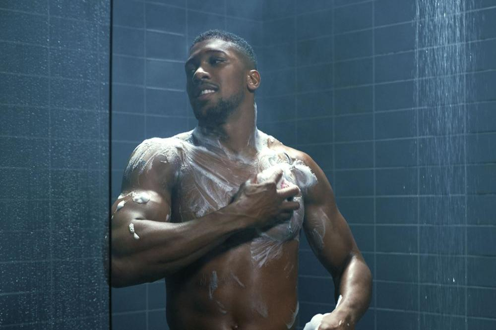 Anthony Joshua in Lynx campaign