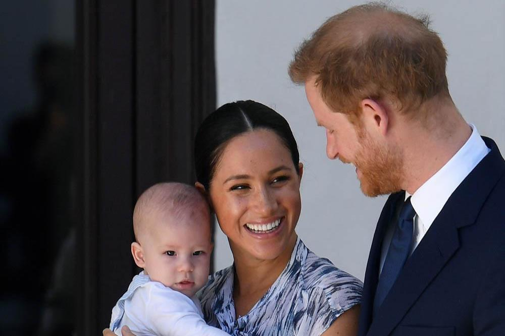 Prince Harry, Duchess Meghan and baby Archie