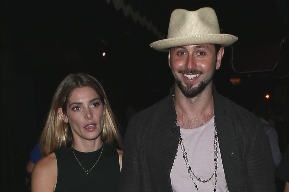 Ashley Greene and Paul Khoury