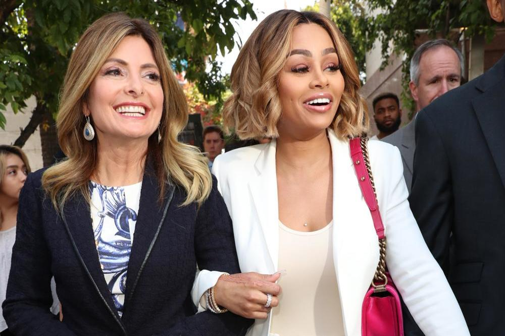 Blac Chyna and her lawyer leave court