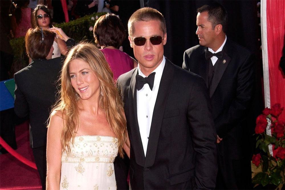jennifer aniston and brad pitt back in touch as friends