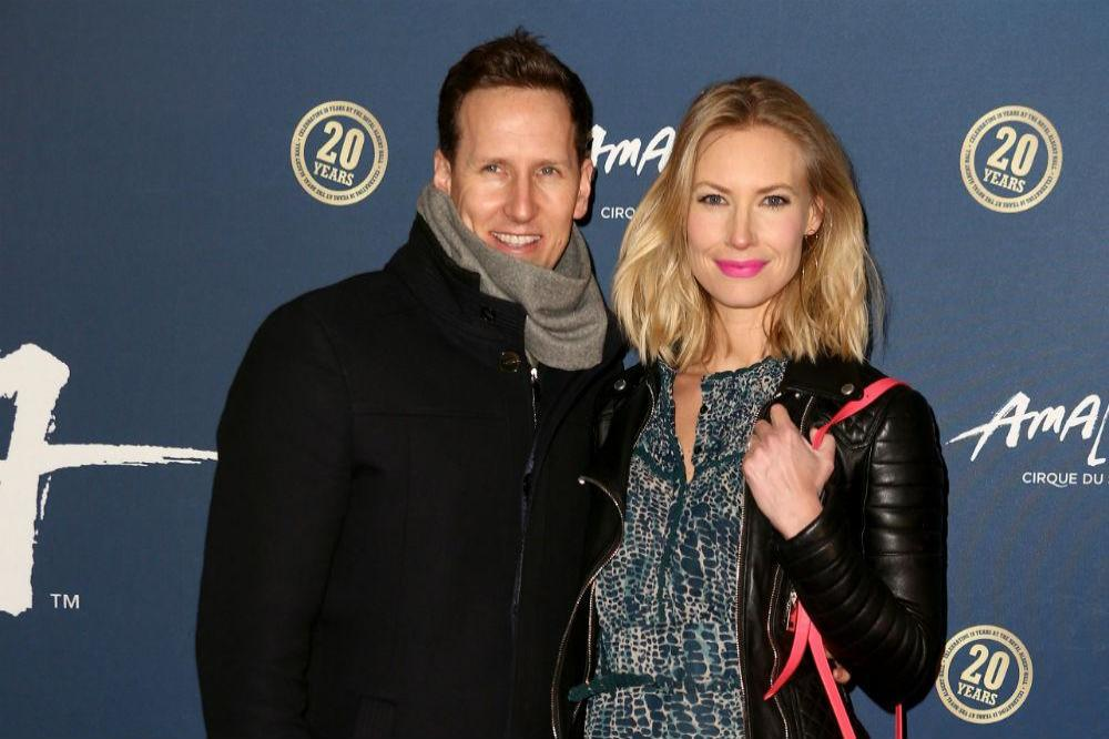 Brendan Cole with his wife Zoe