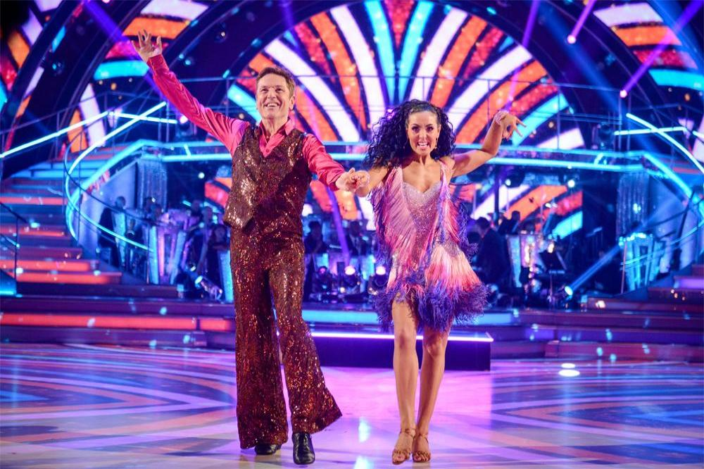 Brian Conley and his partner Amy Dowden