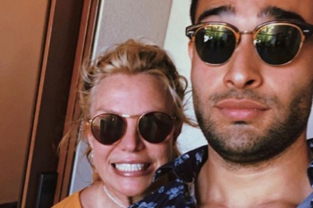 Britney Spears and Sam Asghari (c) Instagram