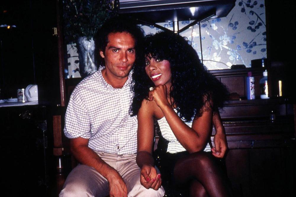Bruce Sudano and Donna Summer