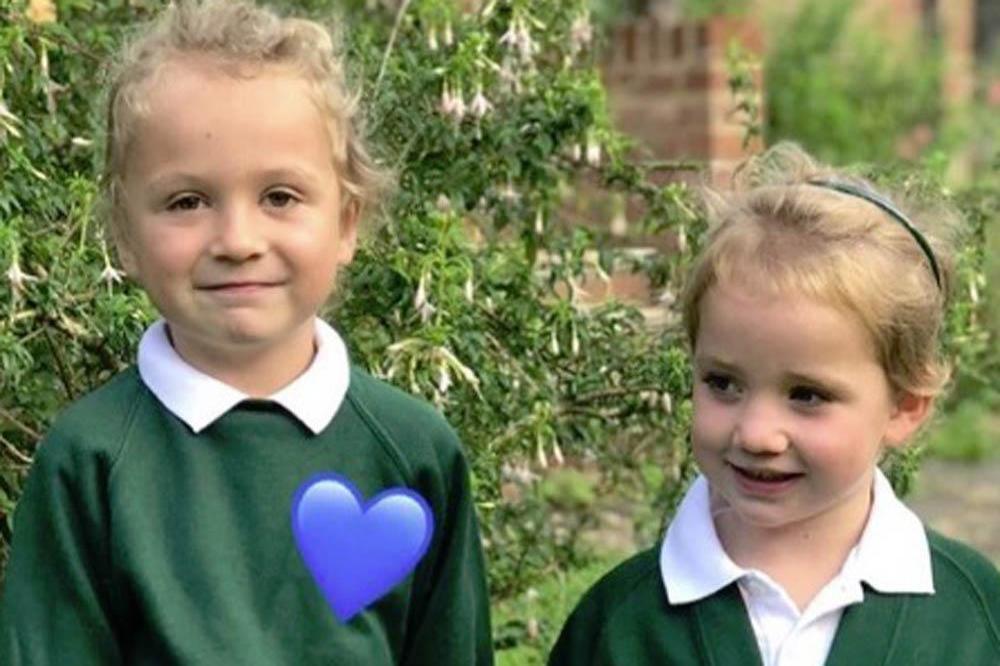 Kieran Hayler Shares Bunny S First Day Of School