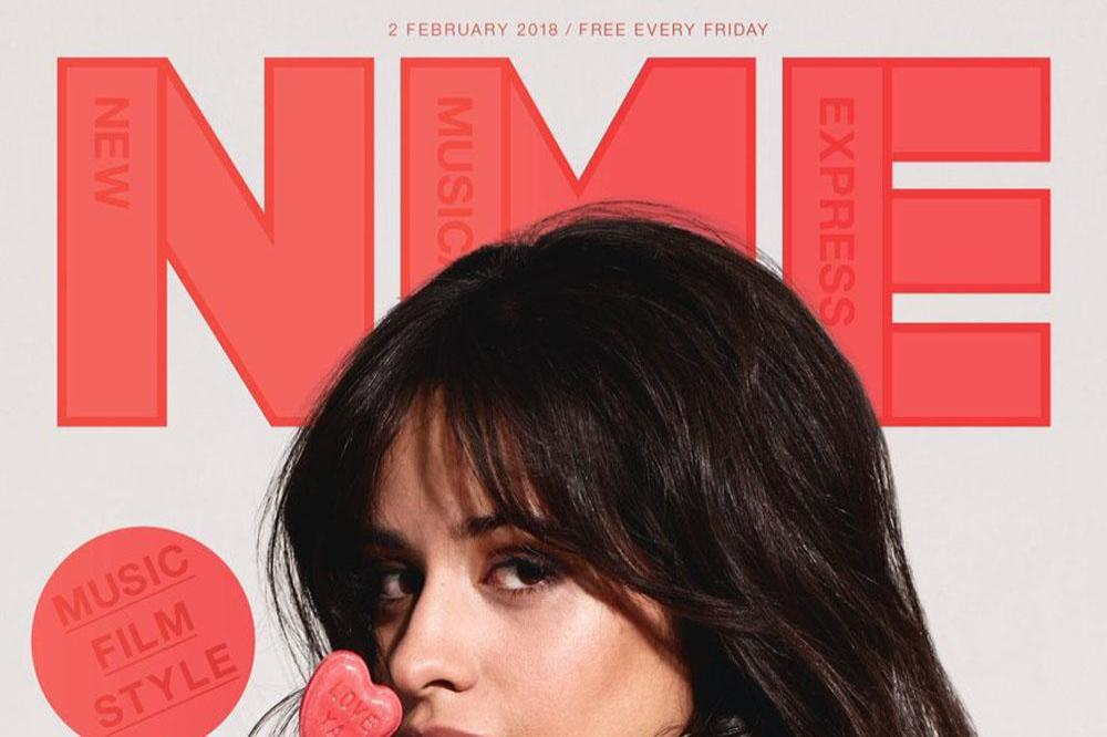 Camila Cabello covers NME magazine