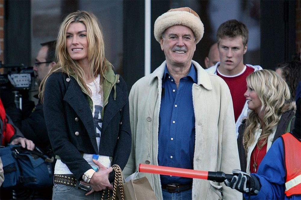 Camilla and John Cleese