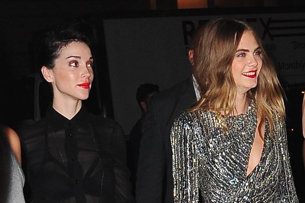 St. Vincent and Cara Delevingne