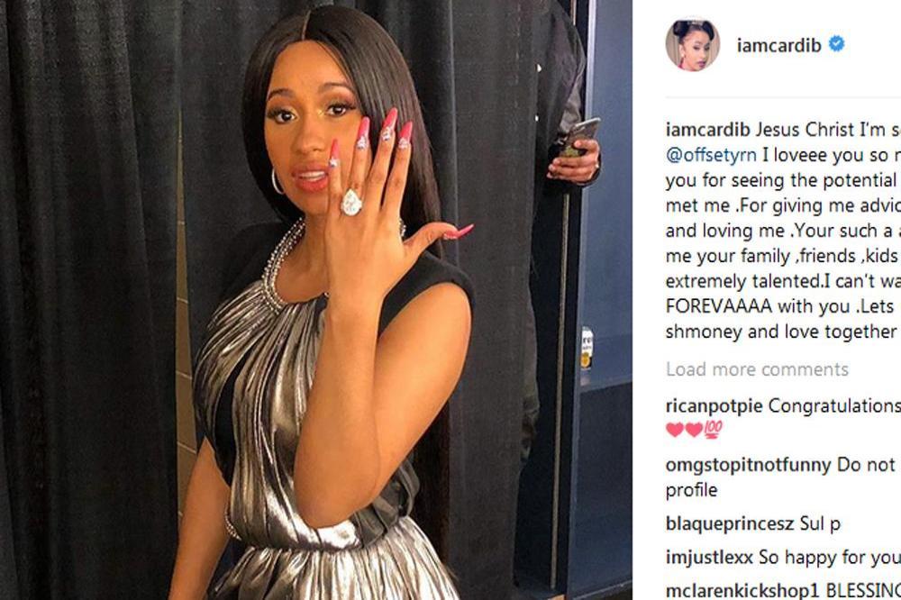 Cardi B Instagram: Cardi B Is Engaged