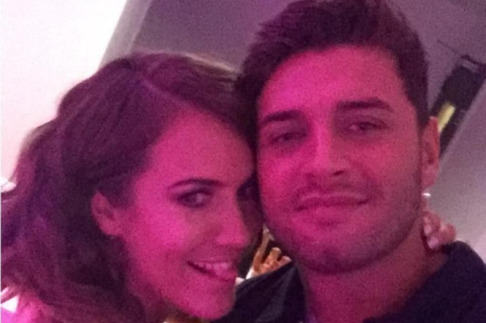 Caroline Flack and Mike Thalassitis (c) Mike Thalassitis/Instagram
