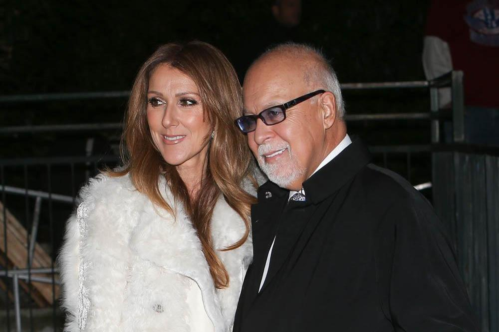 Celine Dion and Rene Angeli