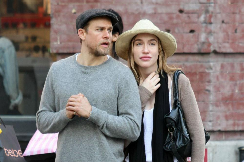 Charlie hunnam and his wife